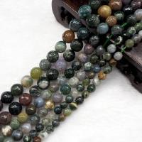 Natürliche Indian Achat Perlen, Indischer Achat, poliert, DIY & facettierte, verkauft per ca. 15.7 ZollInch Strang