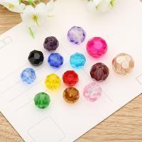 Kristall Perle, poliert, verschiedene Größen vorhanden, mehrere Farben vorhanden, 200PCs/Tasche, verkauft von Tasche