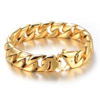 Titan Edelstahl Armband, Titanstahl, für den Menschen, keine, 220x16mm, 2PCs/Menge, verkauft von Menge