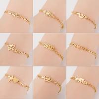 Edelstahl Schmuck Armband, plattiert, verschiedene Stile für Wahl & für Frau, keine, 5x5x5cm, verkauft von Strang