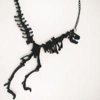 Zinklegierung Schmuck Halskette, Skelett, plattiert, keine, frei von Nickel, Blei & Kadmium, verkauft per ca. 17.7 ZollInch Strang