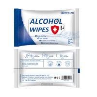 Alkohol+Prep+Pad, Nichtgewebte Stoffe, mit Medizinisch+Alkohol, weiß, 85x150mm, 10PCs/Tasche, verkauft von Tasche