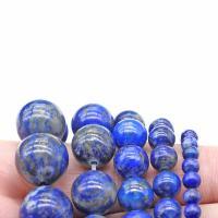Lapislazuli Perlen, poliert, DIY & verschiedene Größen vorhanden, verkauft von Strang