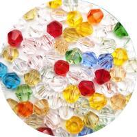 Rondell Kristallperlen, Kristall, plattiert, DIY & Maschine facettiert, Crystal CAL, 4x3mm, ca. 110PCs/Strang, verkauft von Strang
