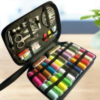 Begriffe & Nähzubehör, Baumwollfaden, mit Zinklegierung, Multifunktions, gemischte Farben, 138x50x240mm, verkauft von setzen
