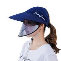 Tröpfchen & staubdichte Gesichtsschild Hut, Baumwolle, mit Kunststoff, unisex, keine, 55-60cm, verkauft von PC