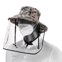 Tröpfchen & staubdichte Gesichtsschild Hut, Baumwollgewebe, keine, 200x10mm, verkauft von PC