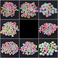 Acryl Schmuck Perlen, PerlenPerlenschnur, DIY & für Kinder, keine, 500G/Tasche, verkauft von Tasche