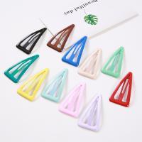 Haarspange, Metallisches Legieren, Dreieck, Epoxidharzklebstoff, für Frau, keine, 70mm, verkauft von PC