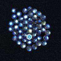 Edelstein Cabochons, Mondstein, poliert, DIY & verschiedene Größen vorhanden, blau, verkauft von PC