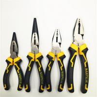 Legierter Stahl Crimp-Zange, mit Kunststoff, verschiedene Größen vorhanden & verschiedene Stile für Wahl, gelb, 5PCs/Menge, verkauft von Menge