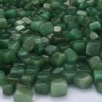 Edelstein Cabochons, Grüner Aventurin, DIY & verschiedene Größen vorhanden, grün, verkauft von kg