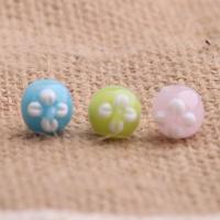 Holprige Lampwork Perlen, DIY, keine, 10mm, verkauft von PC