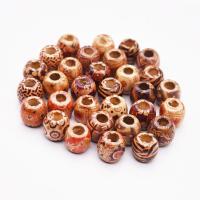 Holzperlen, Holz, Einbrennlack, DIY & verschiedene Größen vorhanden, keine, 16x17mm, verkauft von Tasche