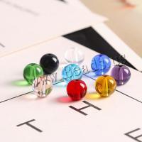 Mode Glasperlen, Glas, rund, DIY & verschiedene Größen vorhanden & glatt, keine, verkauft von Tasche