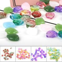 Mode Glasperlen, Glas, Schale, Farbverlauf & DIY, keine, 15x12mm, 5PCs/Tasche, verkauft von Tasche