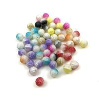 ABS-Kunststoff-Perlen, ABS Kunststoff, Frucht des Lorbeerbaumes, Farbverlauf & DIY, keine, 10mm, verkauft von Tasche