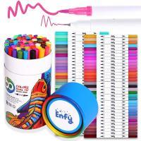 Kunststoff Wasser Farbstift, mit Nylon, für Kinder, gemischte Farben, 161mm, verkauft von Box