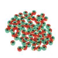Polymer Ton Perlen , gemischte Farben, frei von Nickel, Blei & Kadmium, 10.50x10.50x5mm, 1000PCs/Tasche, verkauft von Tasche