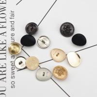 Zinklegierung Knopf, rund, verschiedene Größen vorhanden & verschiedene Stile für Wahl, keine, frei von Nickel, Blei & Kadmium, verkauft von PC