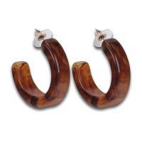 Acryl Schmuck Ohrring, für Frau, keine, 40mm, verkauft von Paar