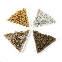 Zinklegierung Zwischenperlen, plattiert, DIY, keine, frei von Nickel, Blei & Kadmium, 6x4mm, Bohrung:ca. 1.5mm, 50PCs/Tasche, verkauft von Tasche