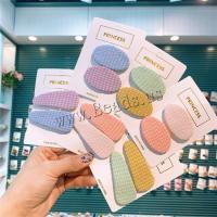Stoff Haarclip, für Kinder & verschiedene Stile für Wahl, keine, 50mm, 10PCs/Menge, verkauft von Menge