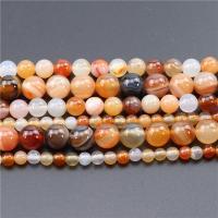 Natürlich rote Achat Perlen, Roter Achat, poliert, DIY, Länge:ca. 15.4 ZollInch, 2PCs/Tasche, verkauft von Tasche