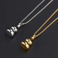 Edelstahl Schmuck Halskette, unisex, keine, 50+5cm, verkauft von Strang