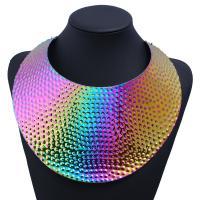 Mode-Halskette, Zinklegierung, plattiert, unisex, keine, frei von Nickel, Blei & Kadmium, verkauft von PC