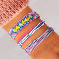 Mode Wachsschnur Armbänder, keine, verkauft von setzen