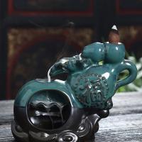 Porcelain Backflow Incense Burner, Porzellan, handgemacht, 160x55x125mm, verkauft von PC