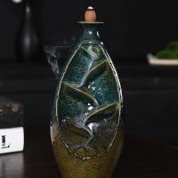 Porcelain Backflow Incense Burner, Porzellan, handgemacht, 105x90x210mm, verkauft von PC